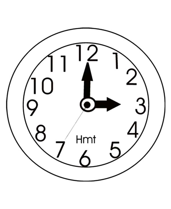 Clock Image Coloring Pages Best Place To Color Coloring Pages Clock Image