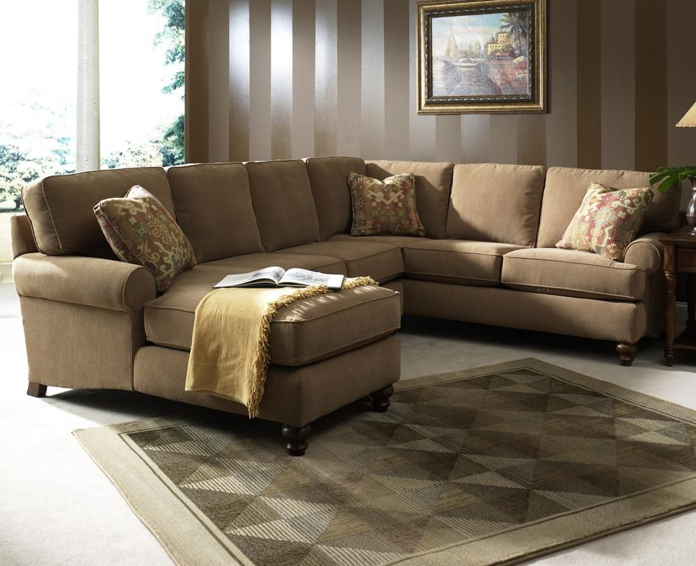 3814 Janette Sectional Sofa by Clayton Marcus AHFA Sofa