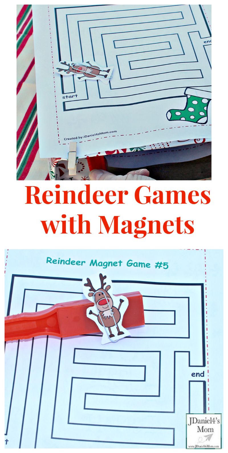 Reindeer Games with Magnets - Your children at home and students at ...