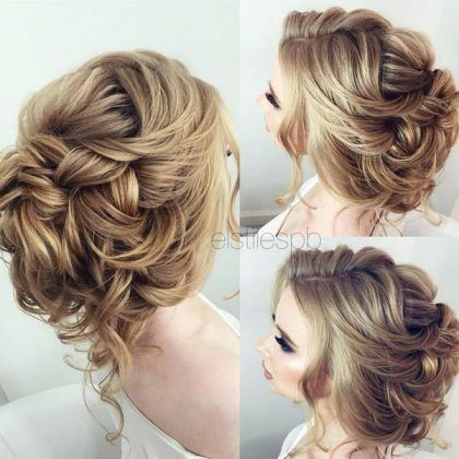 75 Chic Wedding Hair Updos For Elegant Brides BrideUpdosHairdosWedding HairstylesWedding UpdoFormal HairstylesHalf