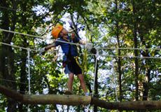 Take flight on a zipline canopy tour just minutes from downtown Asheville yet surprisingly set amongst year old majestic white and red oaks. & MUST do this w/kids this summer: Asheville Treetops Adventure Park ...
