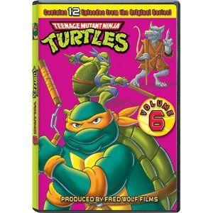 Teenage Mutant Ninja Turtles - Original Series (Volume 6)