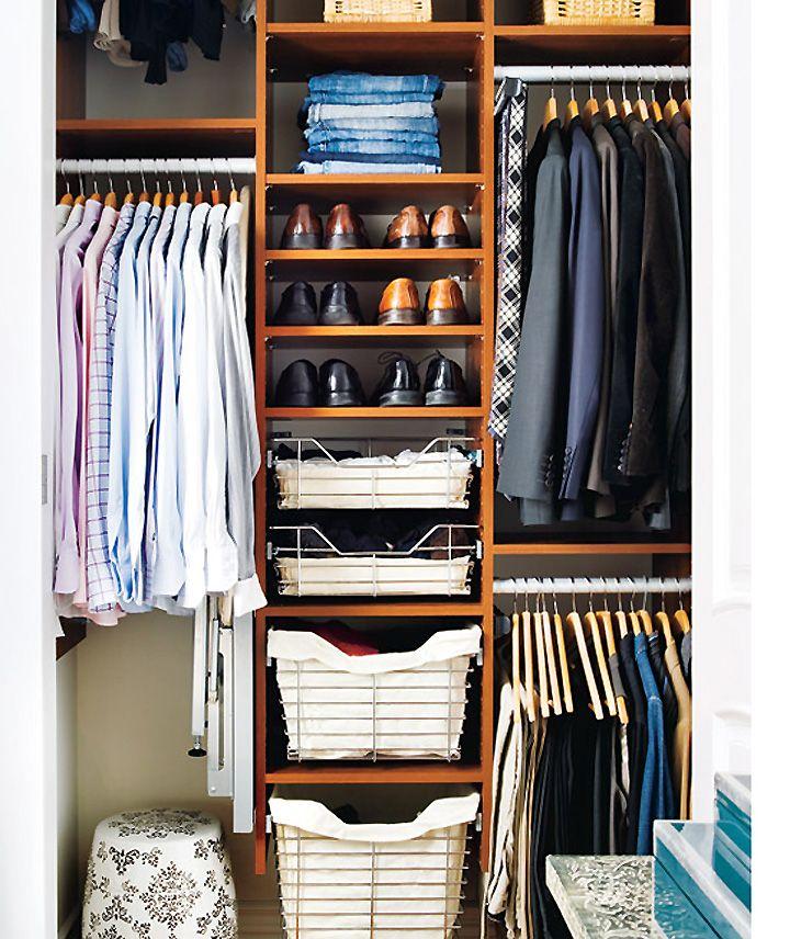 17 Super Stylish Wardrobe Setups For The Modern Man Manbrand Bedroom Organization Closet Mens Closet Organization Small Closets