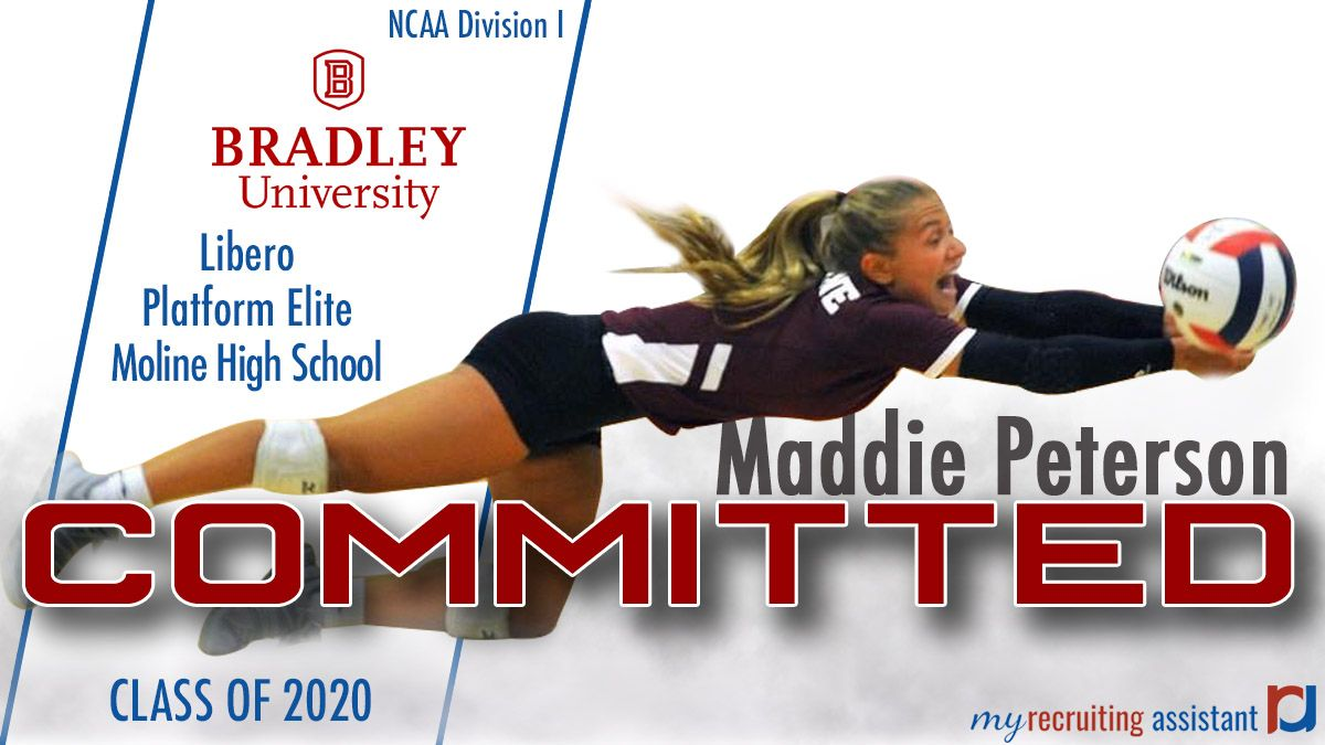Class Of 2020 Ncaa Division I Bradley University Volleyball Commit Bradley University Recruitment Class Of 2020