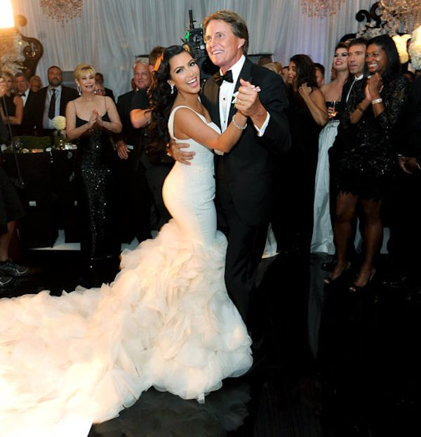Kim Kardashian Confirms Bruce Jenner Will Walk Her Down The Ailse Again For Wedding To Kanye