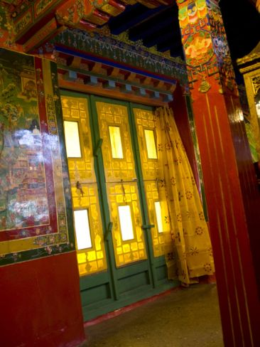 Inside the Potala Palace in Lhasa, Tibet, China