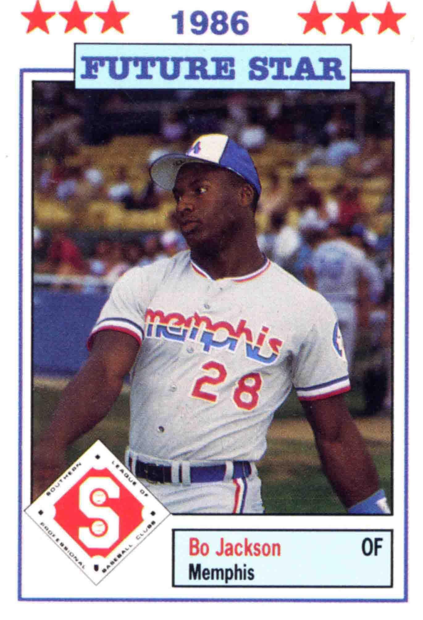 Bo Jackson This Sporting Life Baseball Minor League