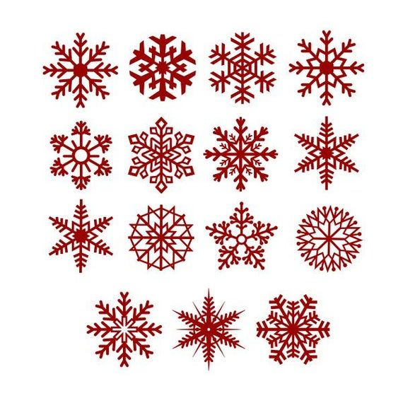 Snow Flake Snowflake 2 Christmas Cuttable Design Svg Png Dxf Eps Designs Cameo File Silhouette Christmas Snowflakes Snowflakes Christmas Templates