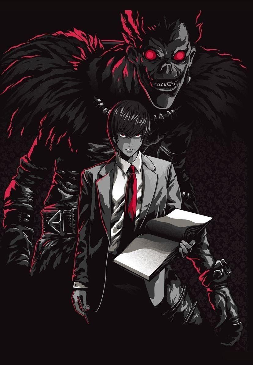 Pin by Anime Wallpaper on Death Note | Death note light, Death ...