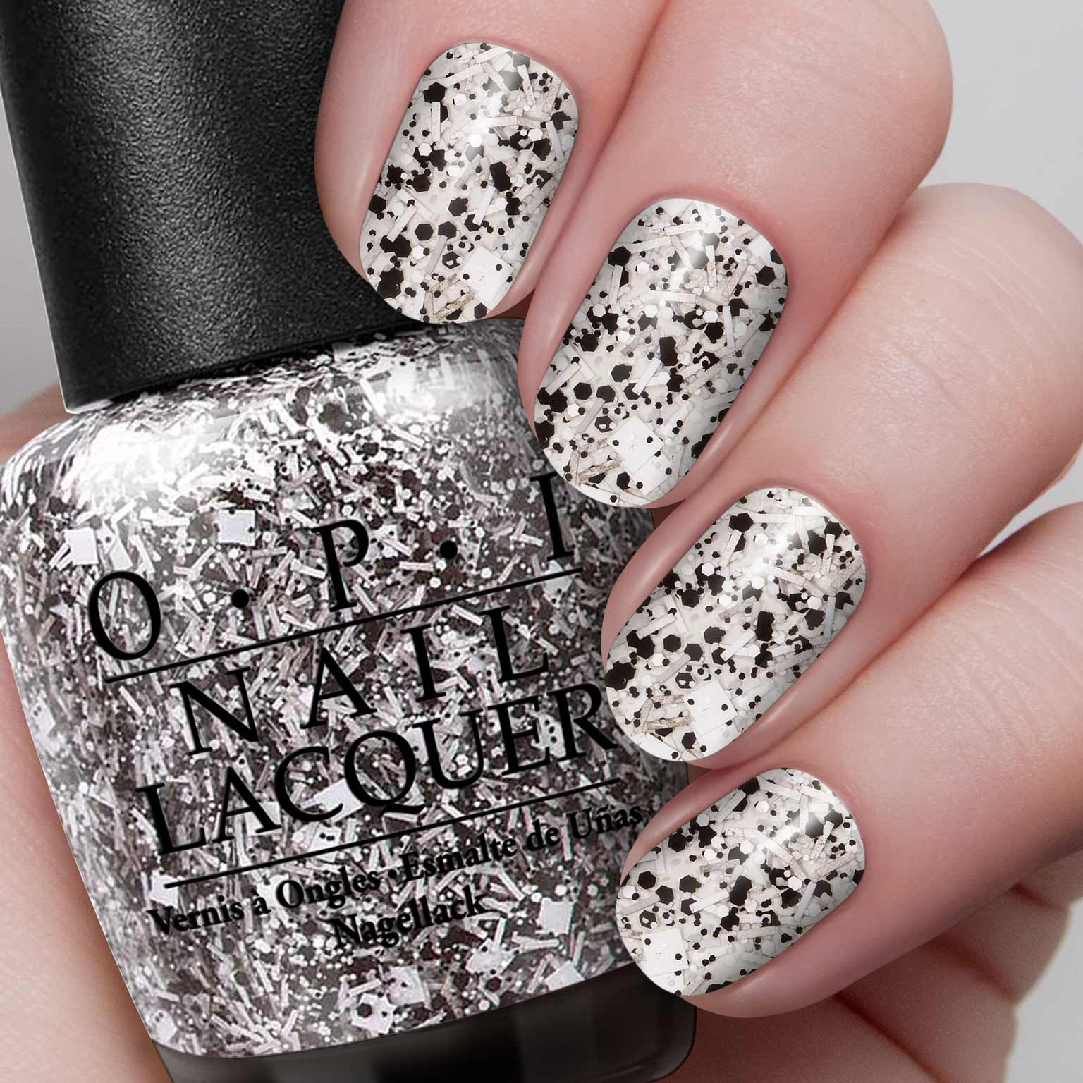 opi i'll tinsel you in black white | my style | pinterest | opi