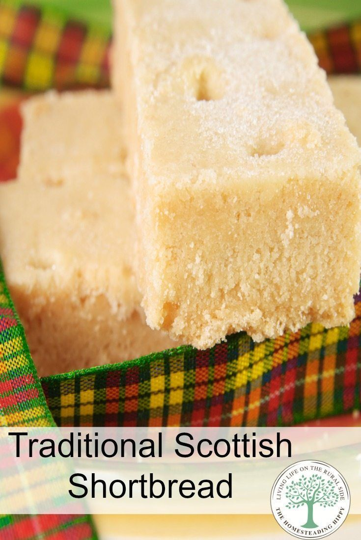 Traditional Scottish Shortbread Cookie Recipe Cookies Pinterest