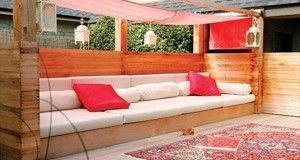 Faire un salon de jardin en palette   Balkonideen   Muebles con ...