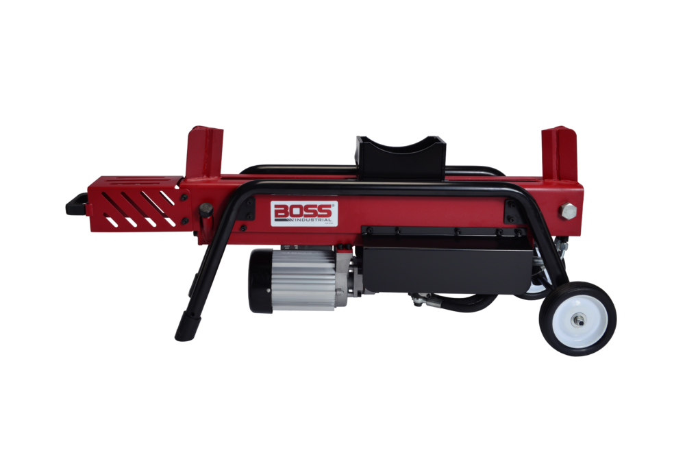 Boss Industrial 8 Ton Electric Dual Action Log Splitter Ed8t20 Log Splitter Electric Logs Industrial Electric