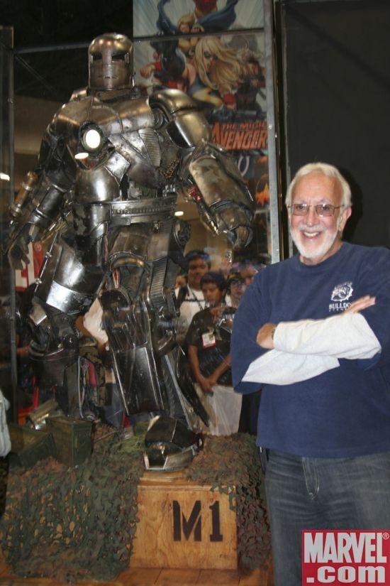 Stan Winston (Iron Man) | Horror movie icons, Movie props ...