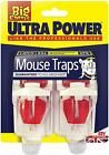 The Big Cheese - Ultra Power Mouse Traps - Ready Baited Easy to Set Twin Pack #mousetrap