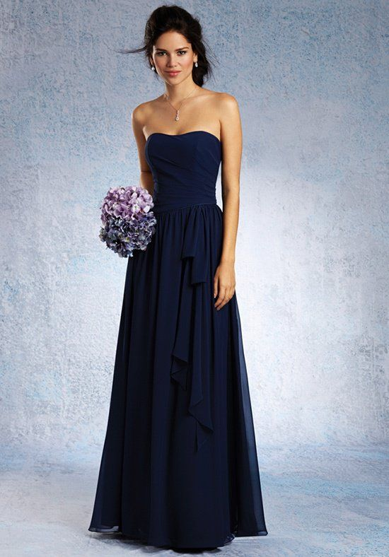 Alfred Angelo Signature Bridesmaids 7324L Bridesmaid Dress - The ...
