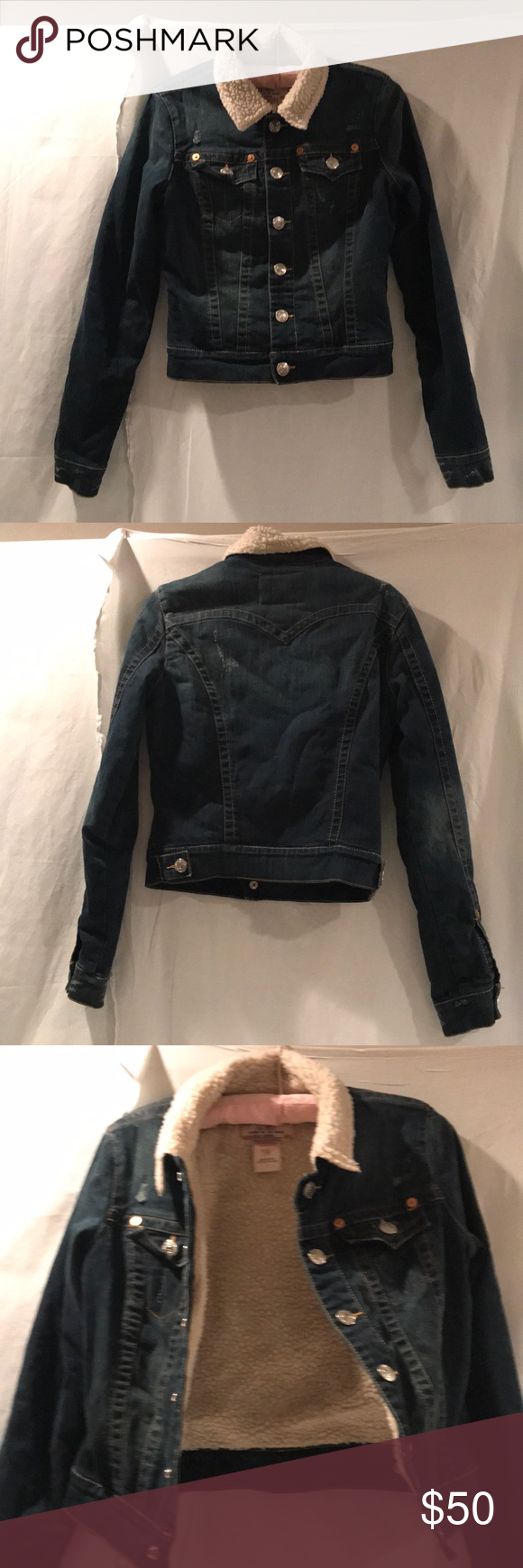 True religion jean jacket my posh closet pinterest