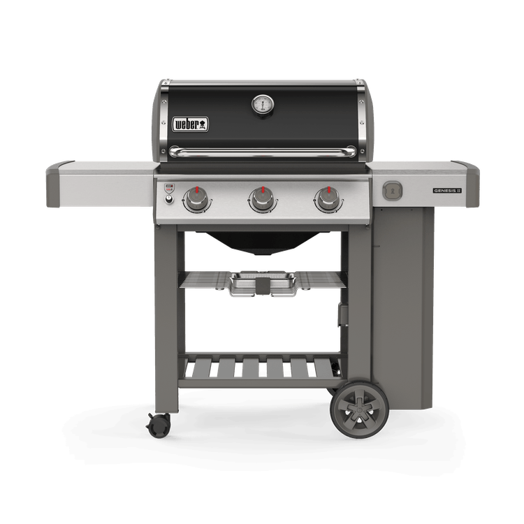 Genesis Ii E 310 Gas Grill Black In 2020 Weber Gas Bbq Gas Bbq Grilling