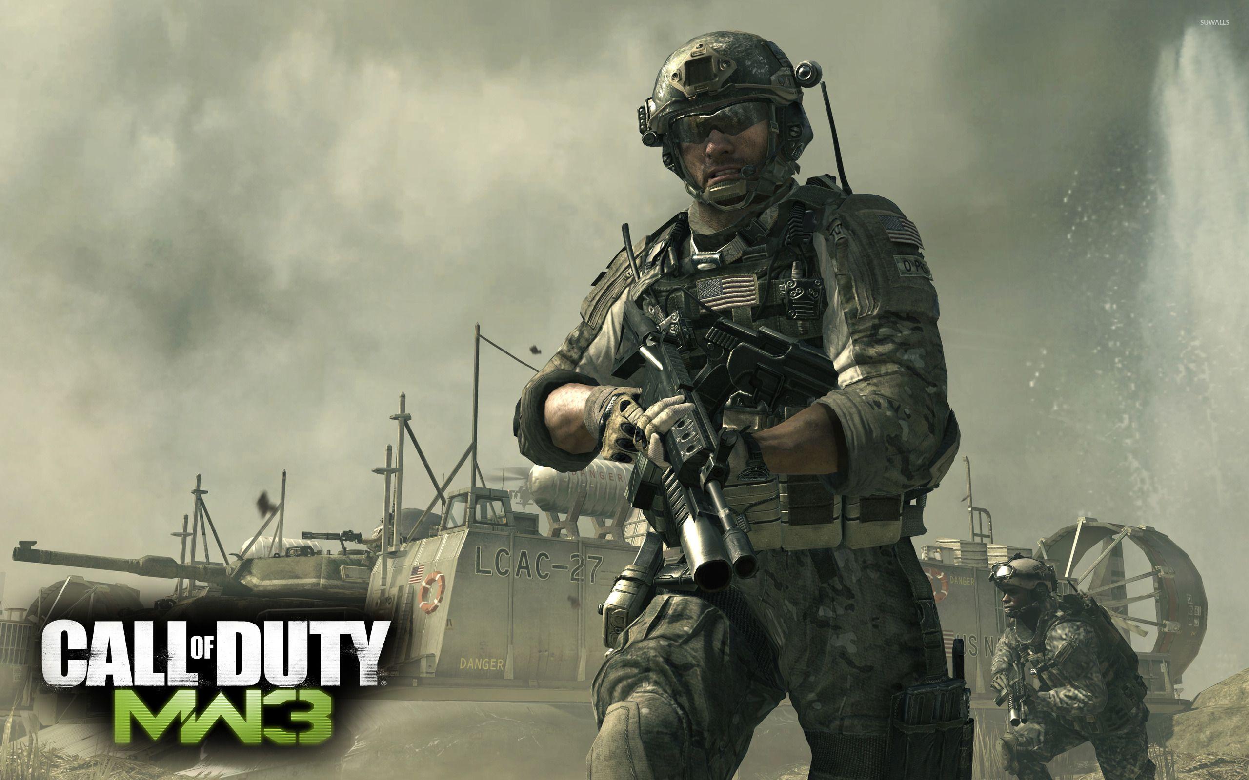 Call Duty Modern Warfare HD desktop wallpaper Widescreen