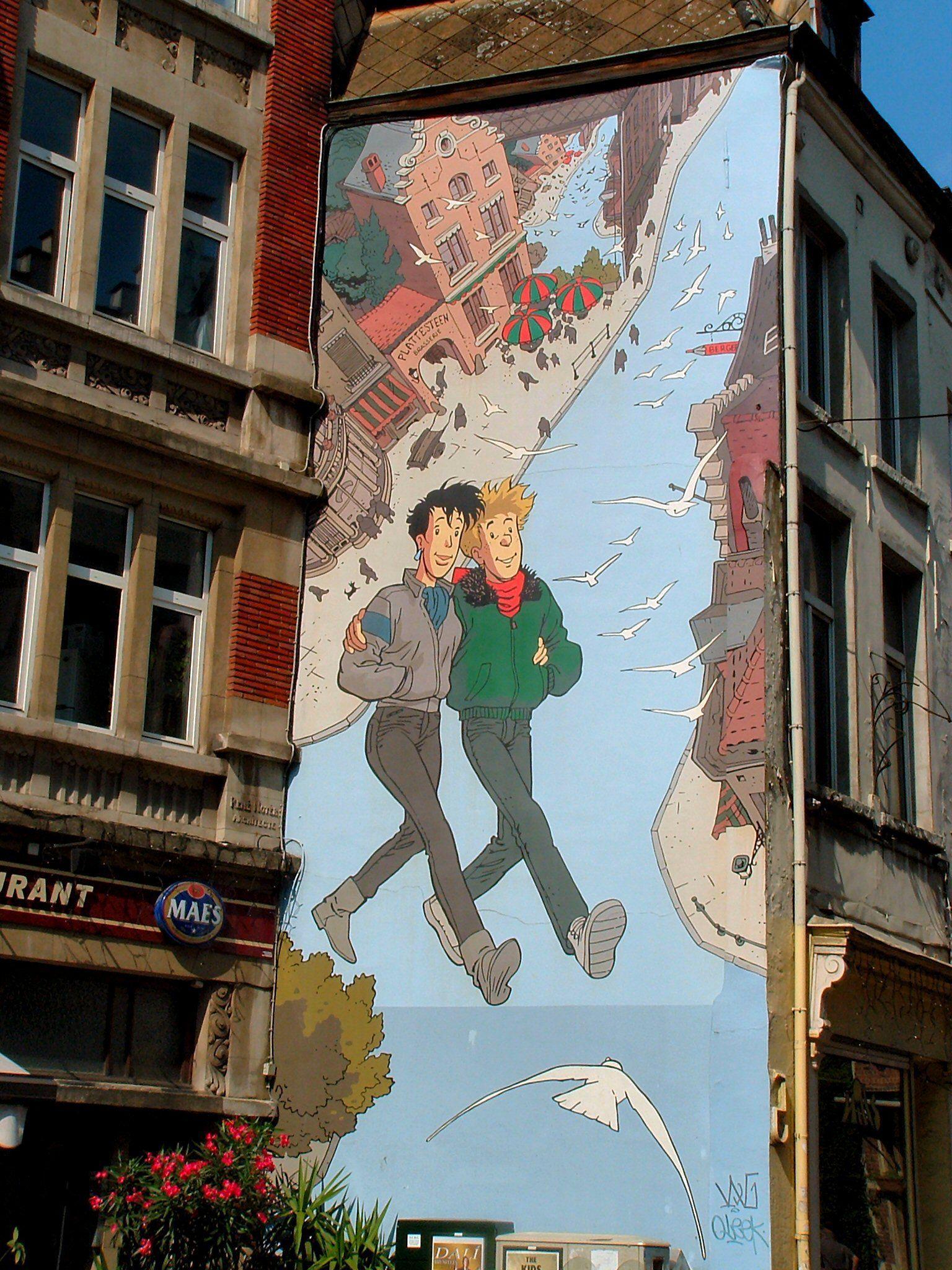 Citaten Asterix En Obelix : Bruxelles street art pinterest