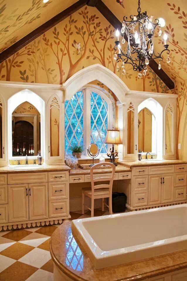 Storybook home master bath | Storybook Homes <3 | Pinterest | Bath ...