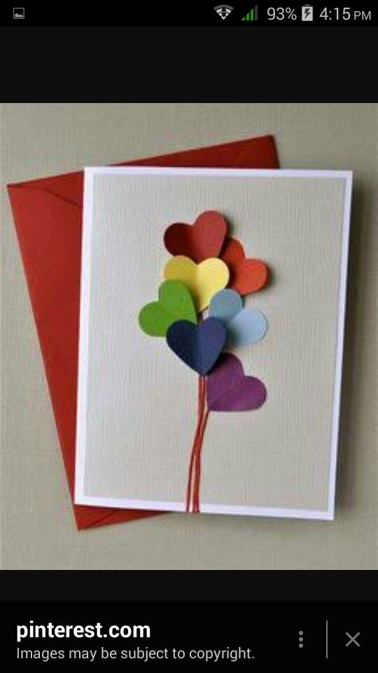 Pin By Maryam Khan On Art And Craft Homemade Birthday Cards