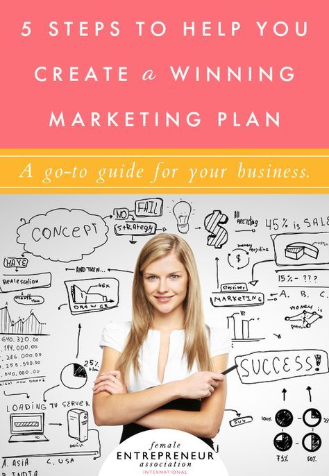 5 Steps To Help You Create A Winning Marketing Plan Business - how do you create a marketing plan