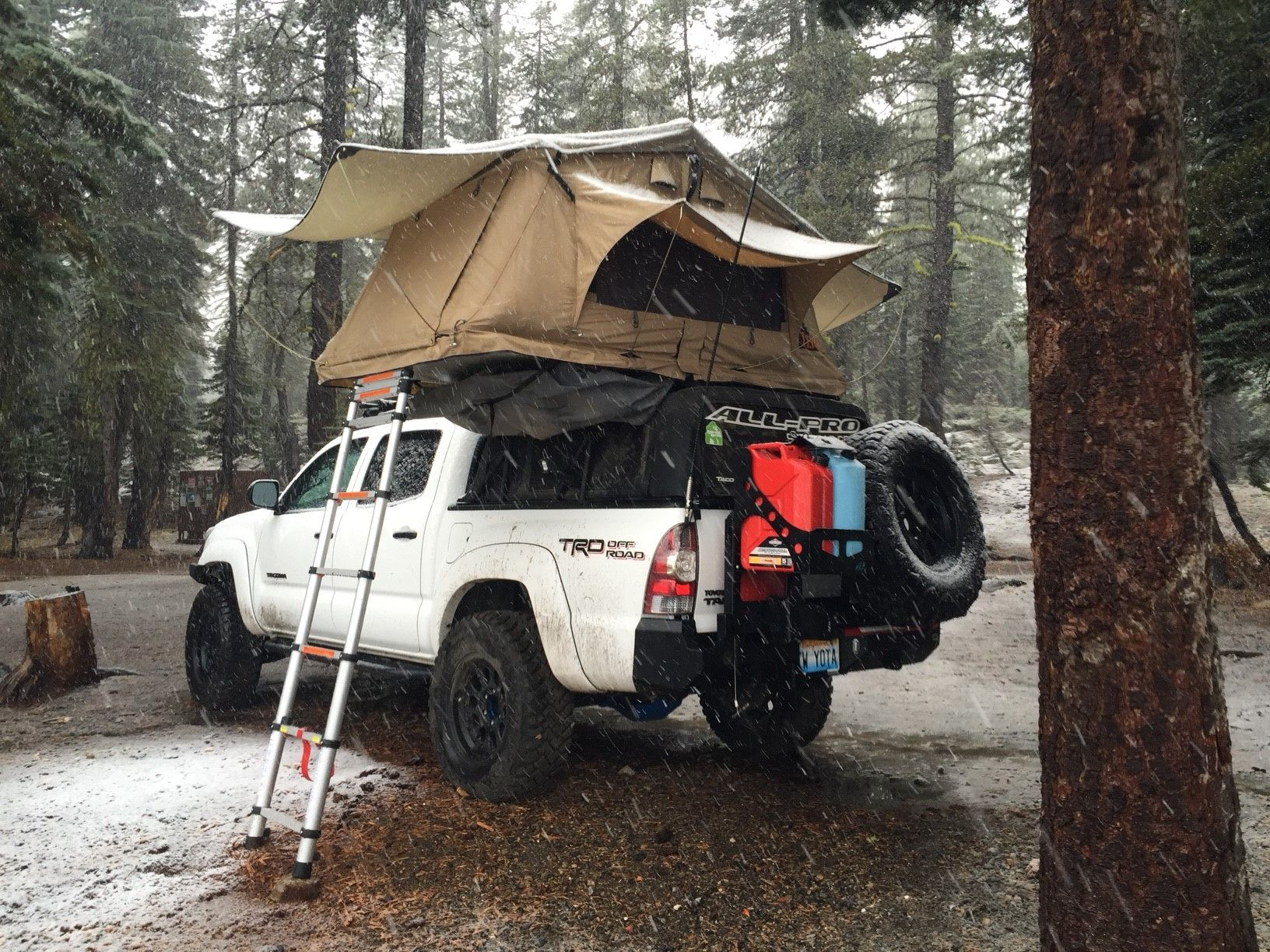 Tepui Tents Our Next Adventure Tacoma Truck Overland