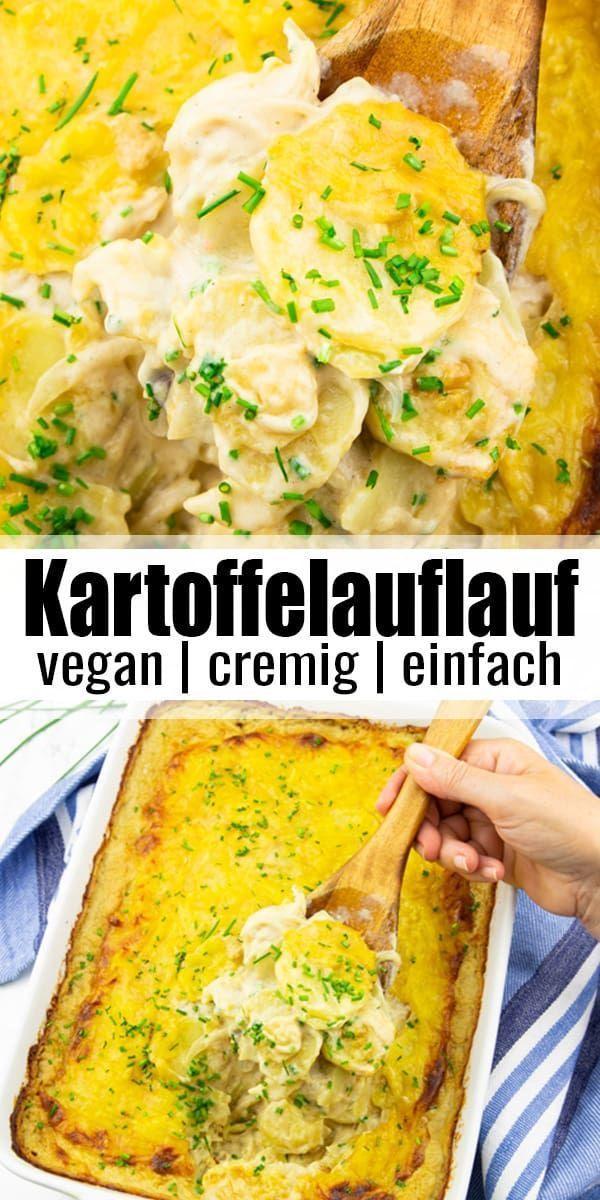 Kartoffelauflauf soo lecker und vegan