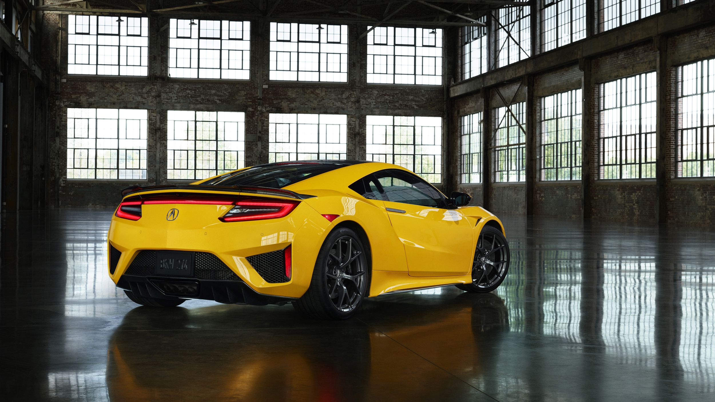2020 Acura NSX Indy Yellow Pearl Acura nsx, Nsx, Acura