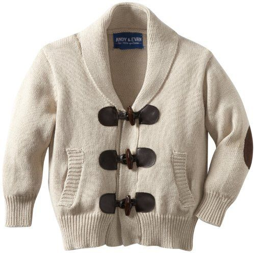 Andy & Evan Boy toggle sweater- So handsome!