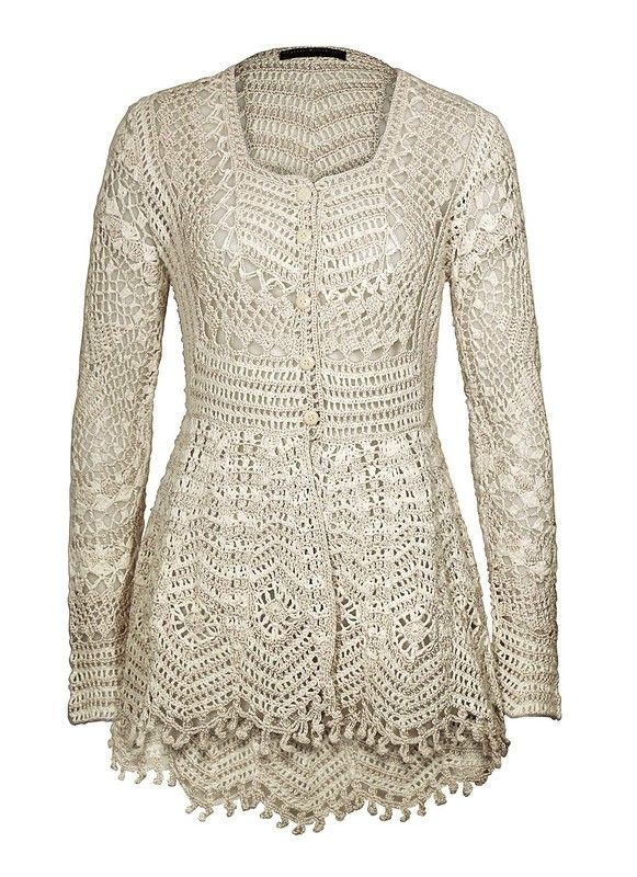 ergahandmade: Diagramas de Crochet Cardigan + | nela | Pinterest ...