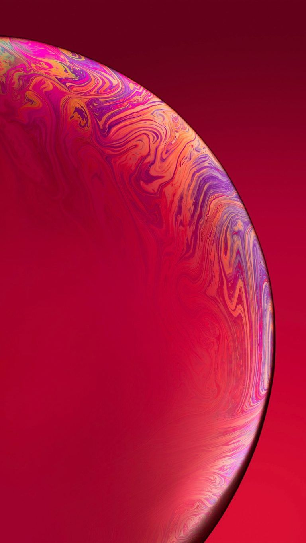 iPhone Xr Red Wallpaper - Wall4fun