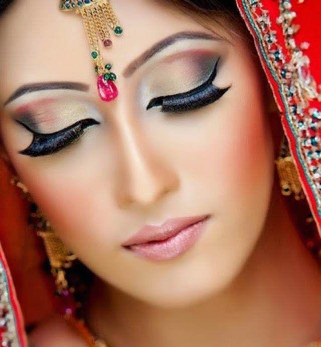 maquillaje de novia ideas modernas estilo indio