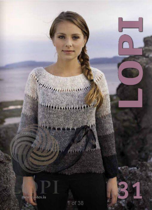 Ístex Lopi No. 31 pattern book lopapeysa Iceland knitting Jón ...
