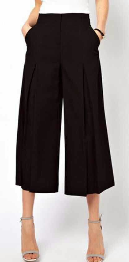 Photo of Short and bell pants. Trending love it #shortbellpants #pants #black #bellpants