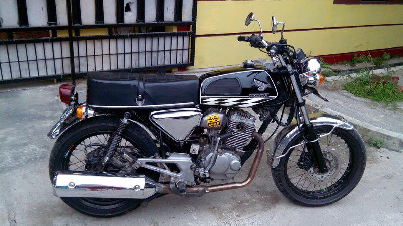 contoh modifikasi motor honda tiger 2000