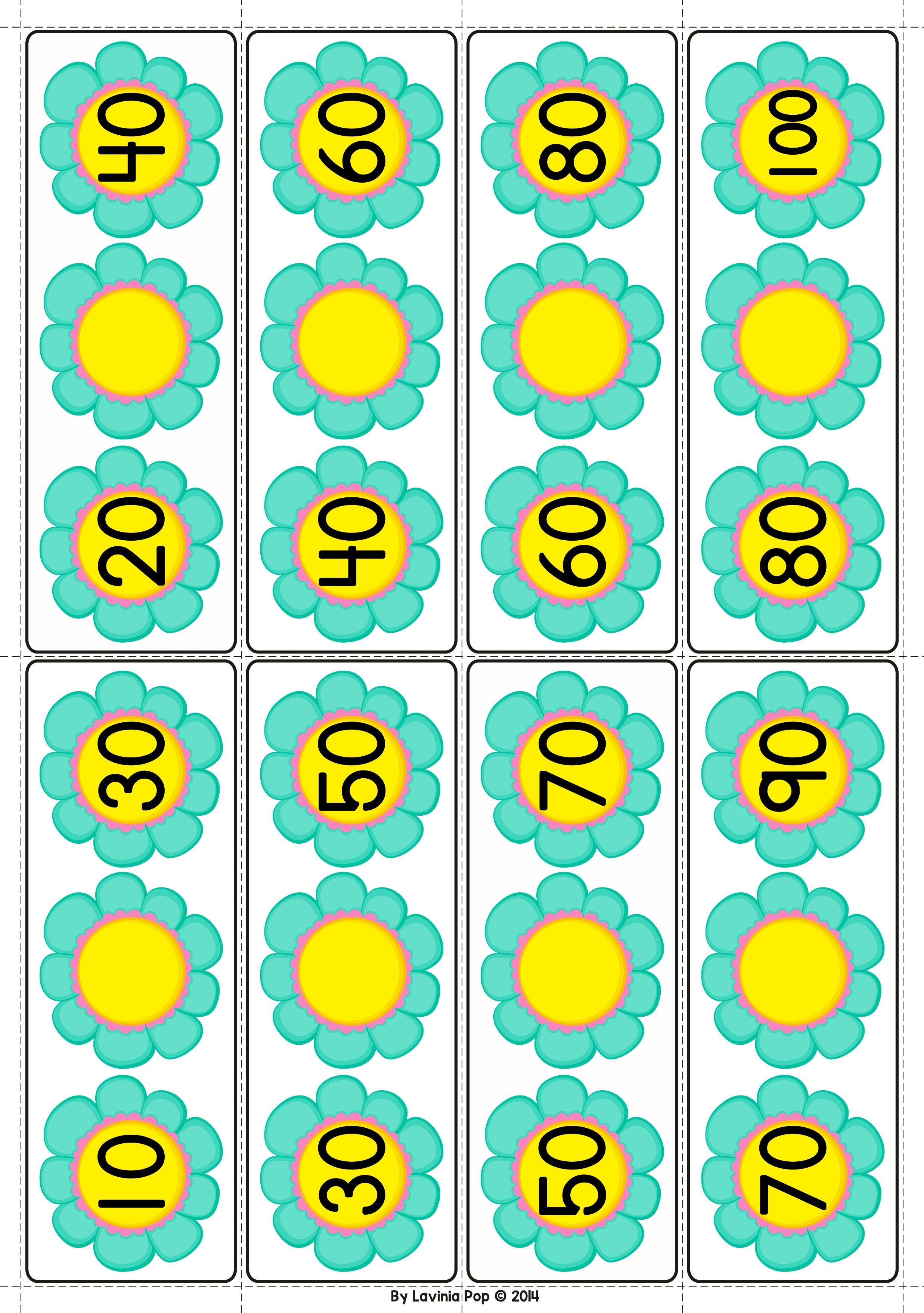 Spring Math Centers for Kindergarten | Kindergarten and Math
