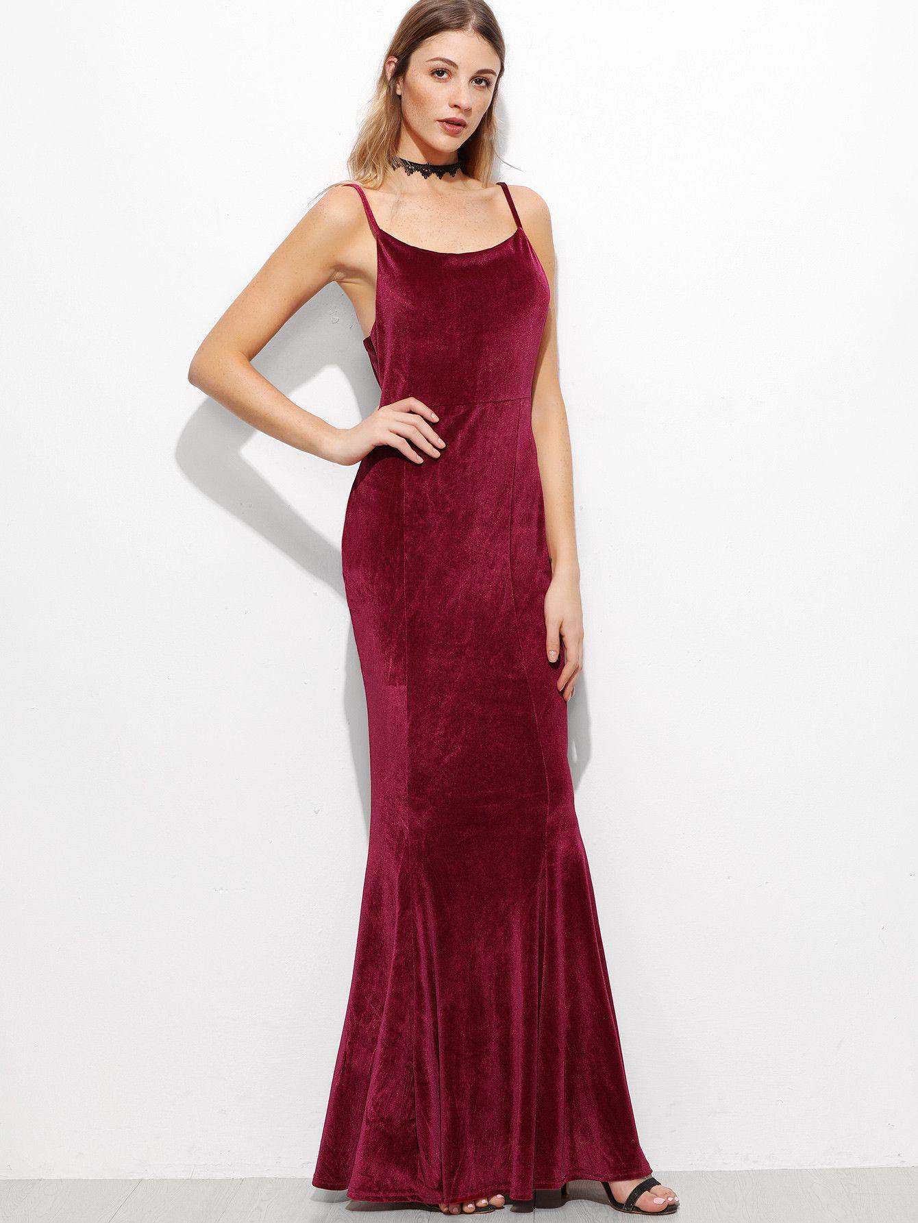Burgundy spaghetti strap corduroy maxi dress dress burgundy maxi
