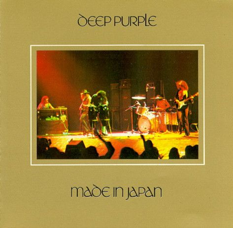 Deep Purple Made In Japan Truly Epic M Rock Album Covers Deep Purple Deep Purple Highway Star