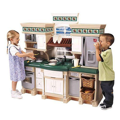 Step2 Lifestyle Deluxe Kitchen With Realistic Sounds Granite