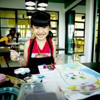 """Fai-Fah (""""light energy""""), is a programme which acts as a catalyst for change in Thai society through working with underprivileged children using the arts as a vehicle for self-development and creative thinking."""