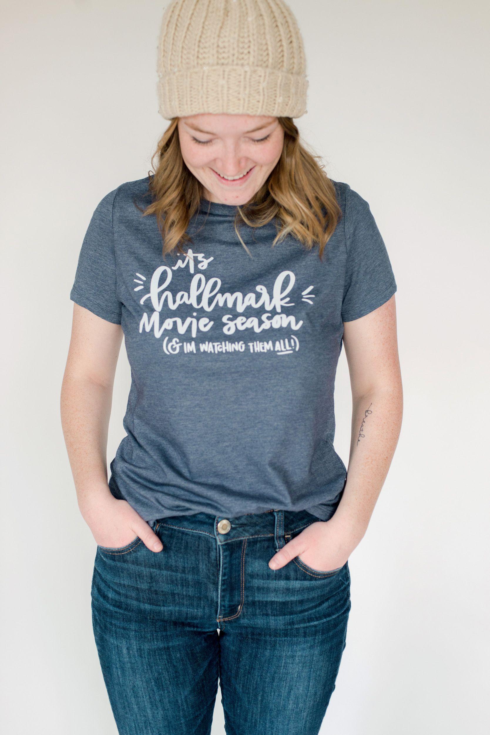 Hallmark Christmas T Shirt.Do You Love The Hallmark Channel As Much As You Love
