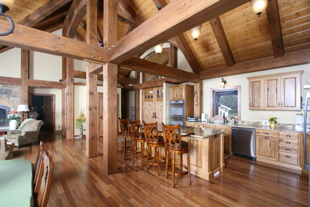 Blue Ox Timber Frames HandCrafted Eastern White Pine