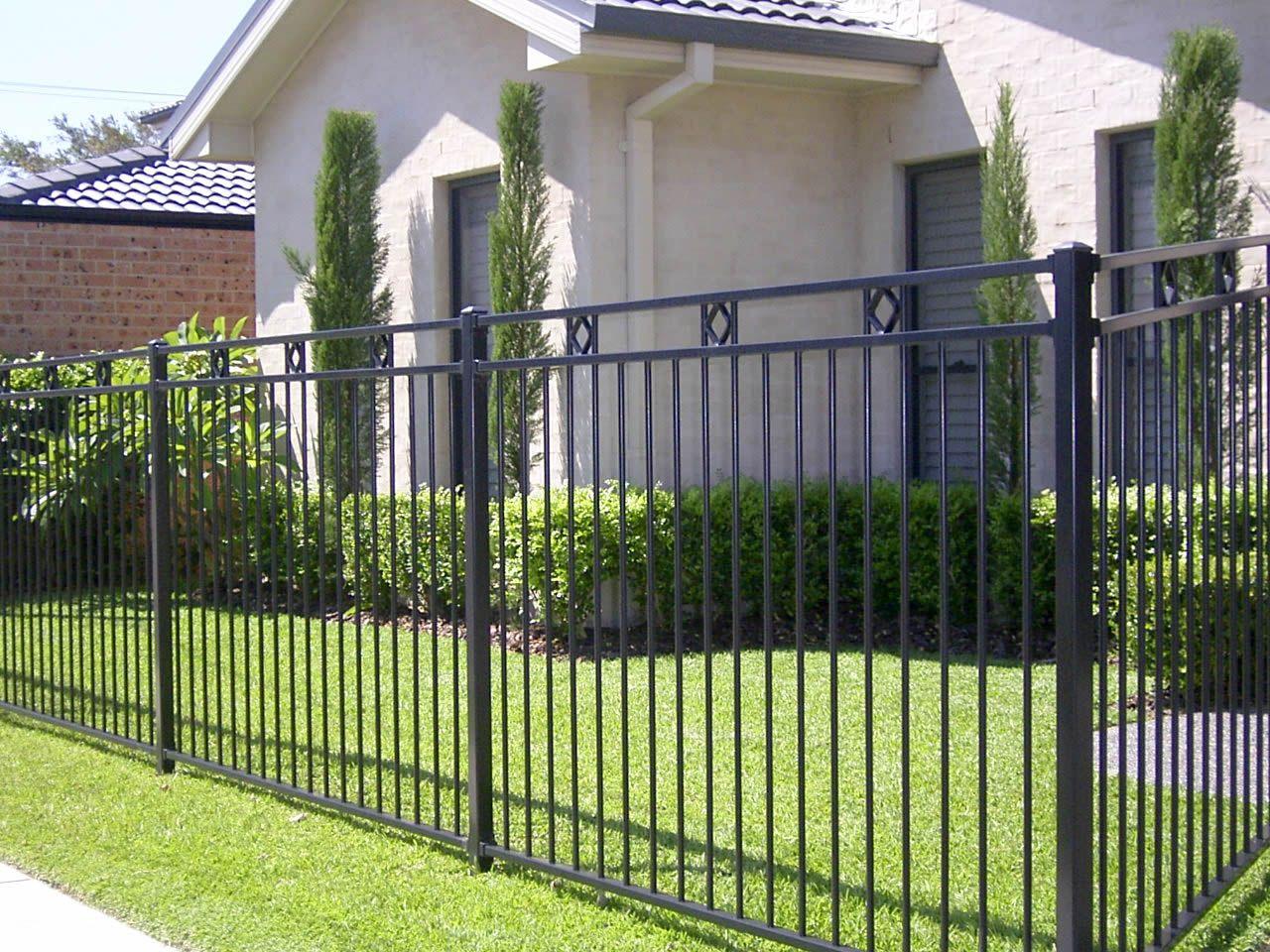 HomeOwnerBuff F4 double wave design fence balustrading