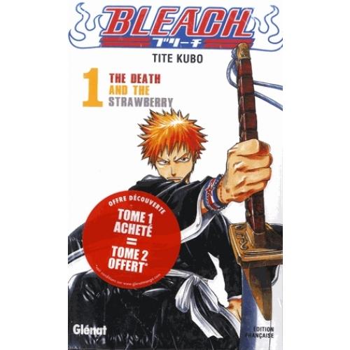 Bleach Pack En 2 Volumes Tome 1 Tome 2 Manga Bd