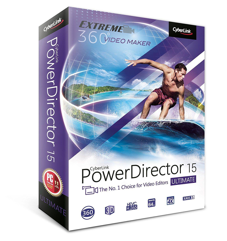 Cyberlink PowerDirector 15 Ultimate Computer Video