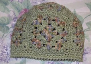 Easy granny square beanie pattern  0d9deee769d