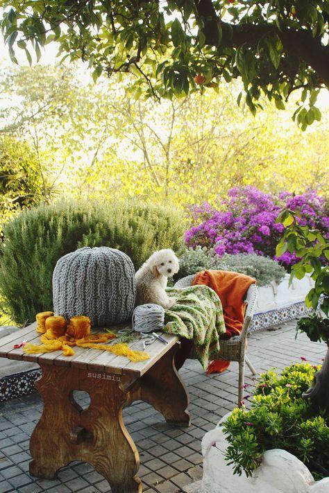 PATRON PUFF PUNTO COLMENA SUSIMIU | coisas para o lar | Pinterest