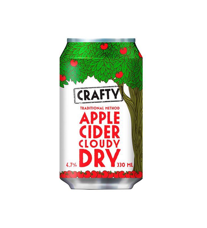Crafty Apple Cider Cloudy Dry -siideri, 7 €. Perinteisin menetelmin valmistettu aito suodattamaton omenasiideri. Bruuveri, 1. KRS